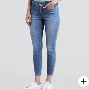 Levi's 311 SHAPING SKINNY ANKLE SNAP WOMEN'S JEANS